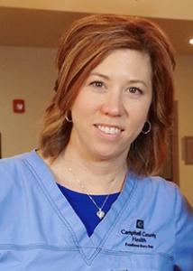 CCH Hospice Volunteer Coordinator Tina Dickey
